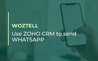 New Trial: Use ZOHO CRM to send WhatsApps