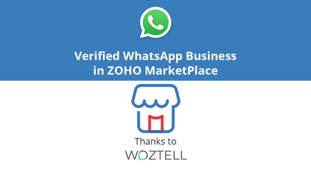 WhatsApp Business in ZOHO MarketPlace