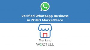 WhatsApp Business in ZOHO MarketPlace