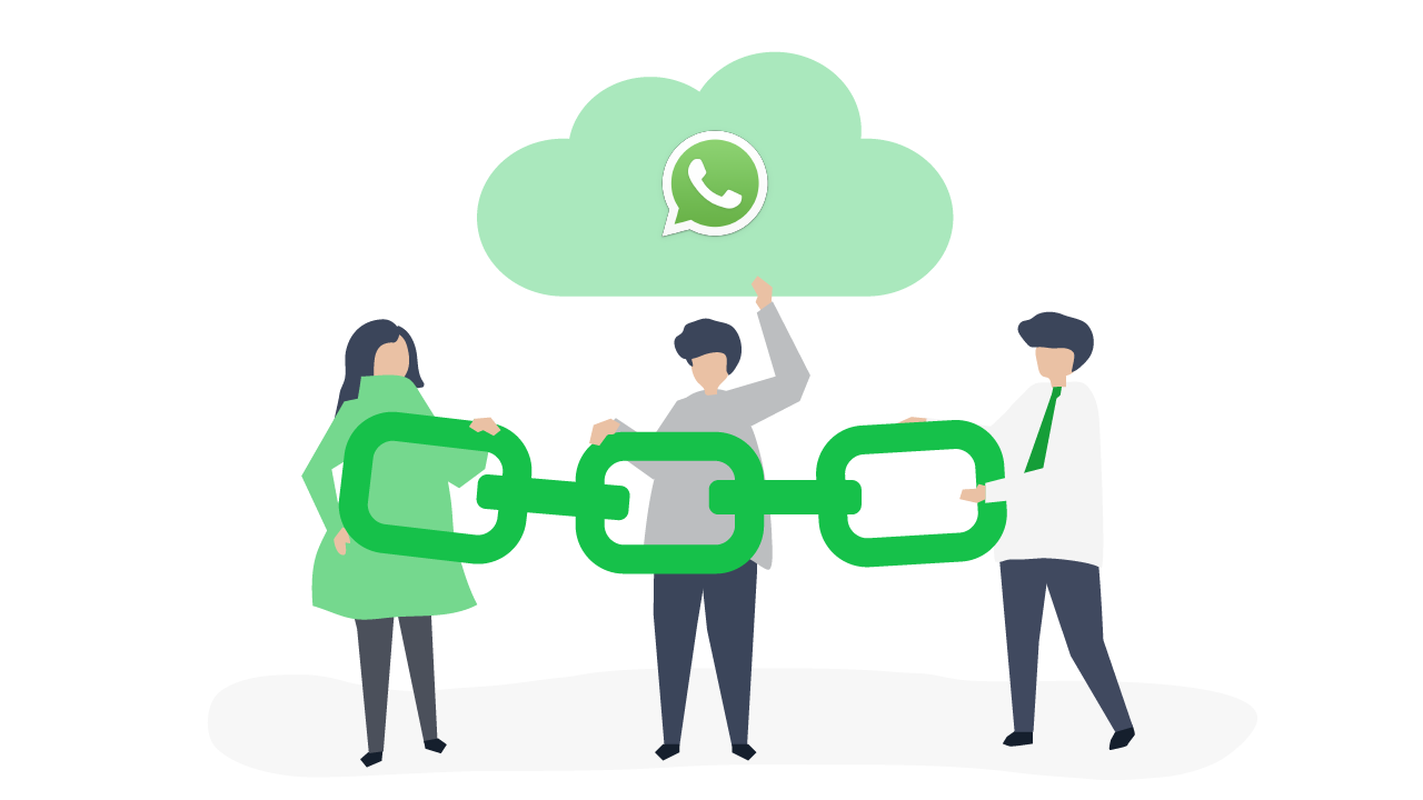 Direct links to your WhatsApp Business