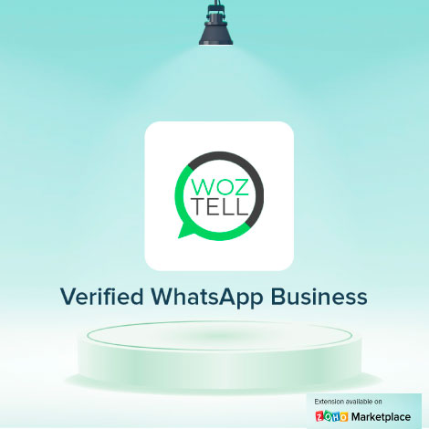 Zoho CRM extension official of WhatsApp