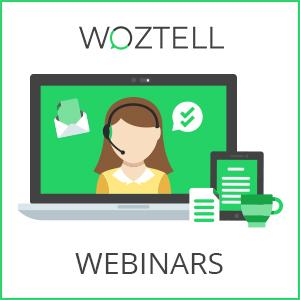 WOZTELL Webinars