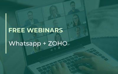 FREE Webinars of WhatsApp + ZOHO