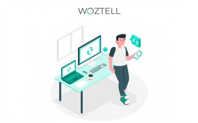 How to update Woztell extension in Zoho Cliq?