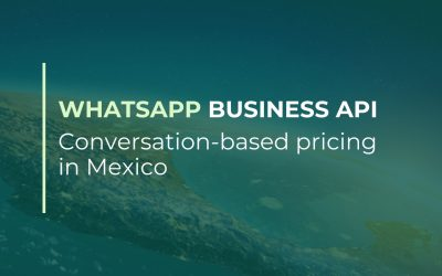 WhatsApp Business API conversation-based pricing in Mexico