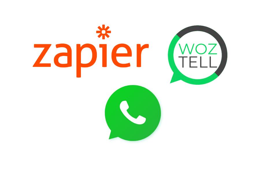 Zapier y WhatsApp con Woztell