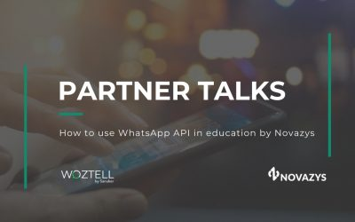 Partner Talks chapter 1: How to use WhatsApp API in education by Novazys