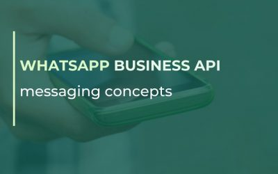 WhatsApp Business API messaging concepts