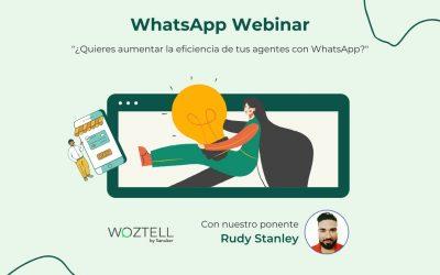 ¿Quieres aumentar la eficiencia de tus agentes con WhatsApp?