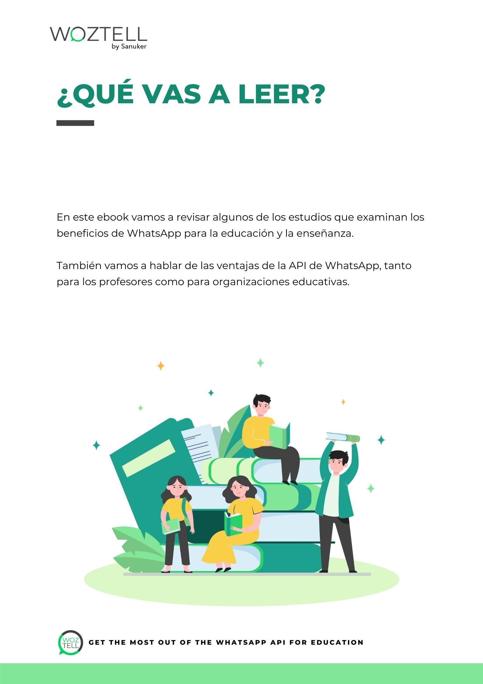 WhatsApp para educación interno