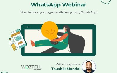 Webinar: How to boost your agent's efficiency using WhatsApp