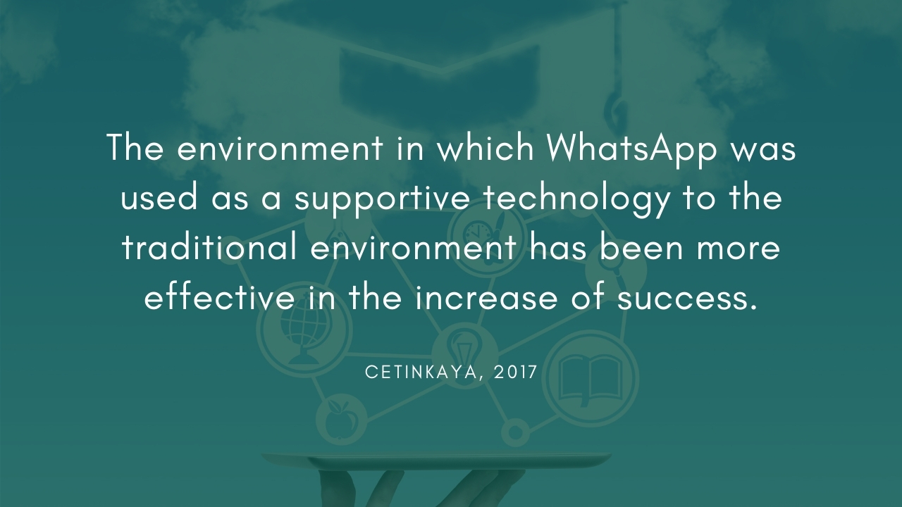 WhatsApp for education operations