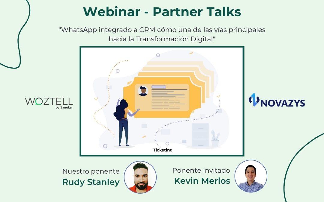 WhatsApp integrado a CRM cómo una de las vías principales hacia la Transformación Digital