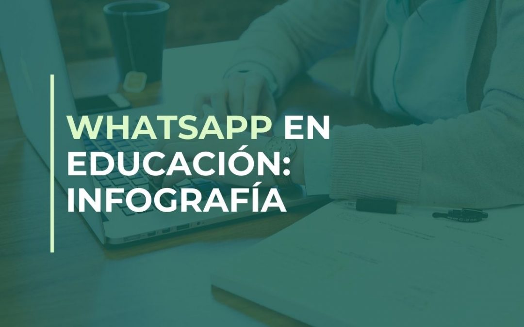 Infografía WhatsApp en la educación