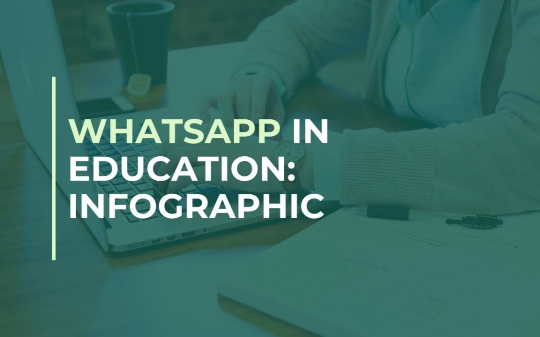 WhatsApp in education infographic