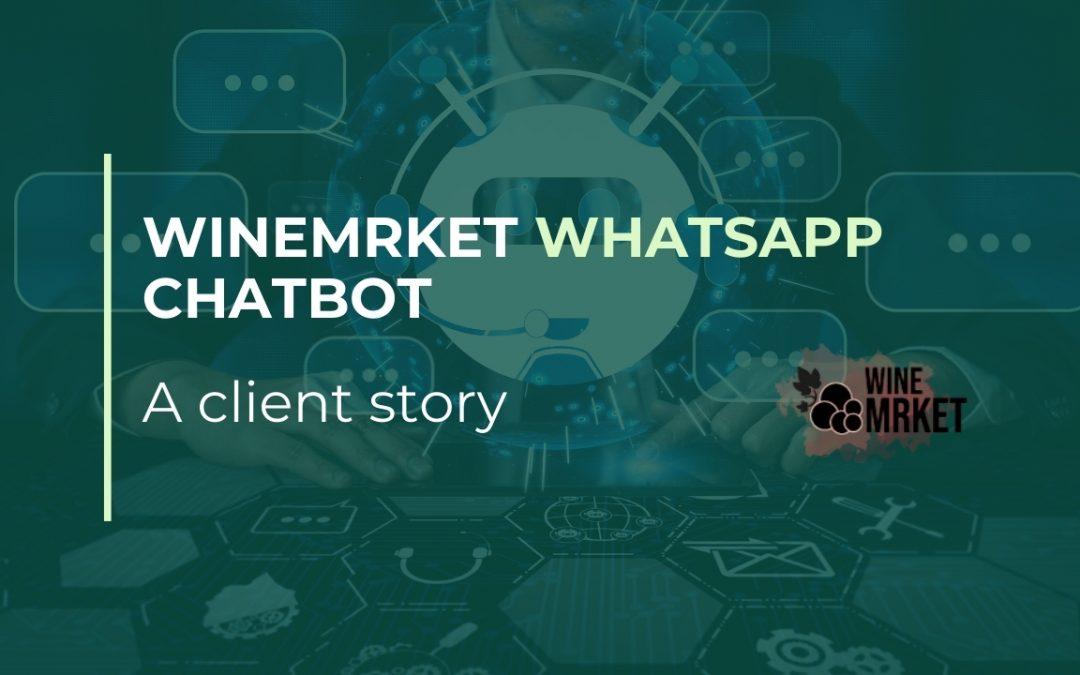 winemrket whatsapp api chatbot